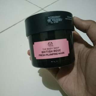 THE BODY SHOP BRITISH ROSE FRESH PUMPLING MASK