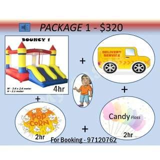 Bouncy Castle package 1