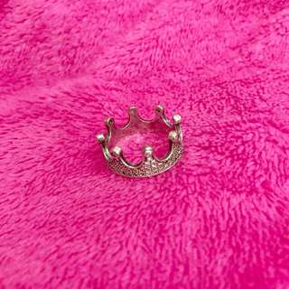 925 Crown  Silver Ring