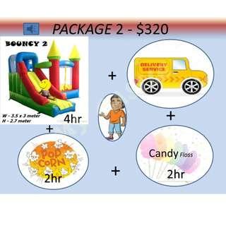 Bouncy Castle package 2