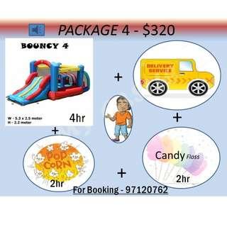 Bouncing Castle Package 4