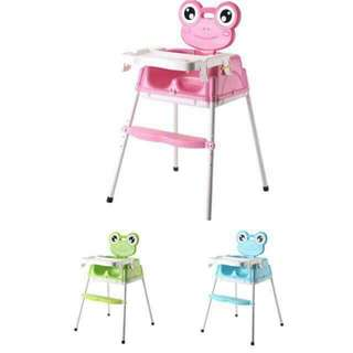 Highchair with wheels