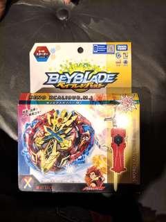 Takara Tomy Xeno Xcalibur Beyblade starter set