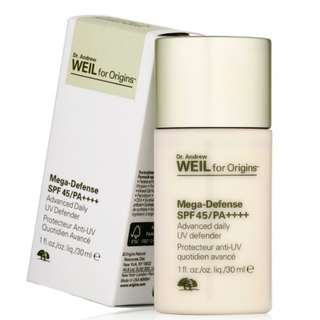 Origins Mega-Defense SPF45/ PA++++ Advanced daily UV defender