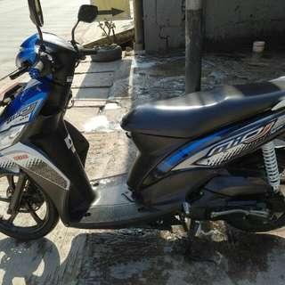 Yamaha Mio J 2014 Blue metallic