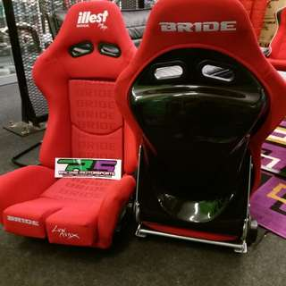 BRIDE ILLEST LOW MAX - SEMI ( RED )