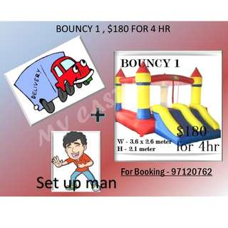 Bouncy Castle 1 for rent
