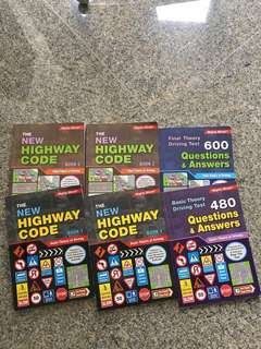 Highway Code Driving Theory Books