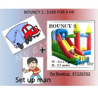 Bouncy Castle 2 for Rent