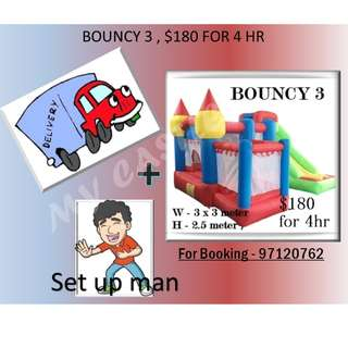Bouncy Castle 3 for Rent