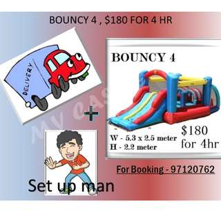 Bouncy Castle 4 for Rent