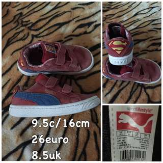 Puma superman shoes