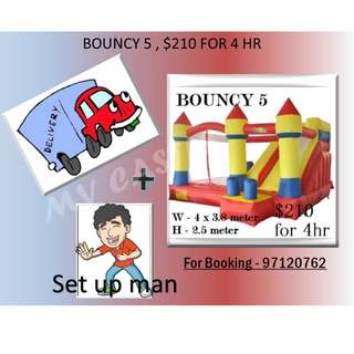 Bouncy Castle 5 For Rent