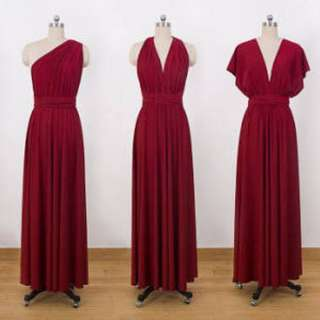 Pre-loved Infinity Long Dress (Maroon)