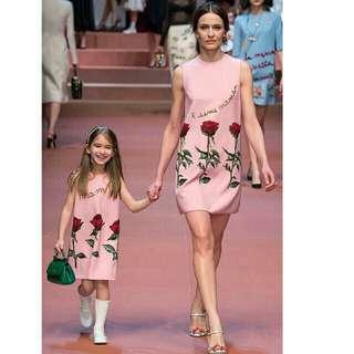 Mom & Daughter Dress