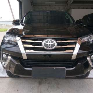 Fortuner VRZ Diesel AT 2016