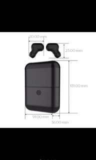 X2 TWS Mini Wireless Bluetooth Earpiece With Charging Box