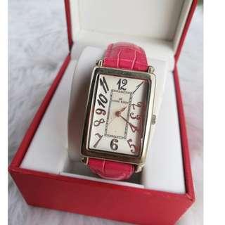Annw Klein Pink Watch
