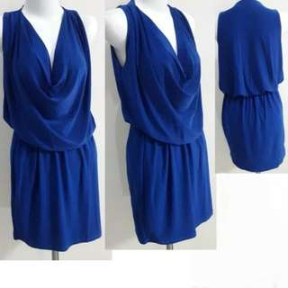 Dress Wanita Biru