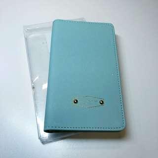 旅行證件套(湖水藍色)
