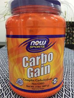 NOW Carbo Gain 2lbs (907g)