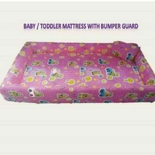 Baby Mattress with bumper guard