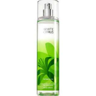 Bath and Body Works White Citrus Fine Fragrance Mist