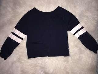 Cropped Baseball Sweater/Sweatshirt