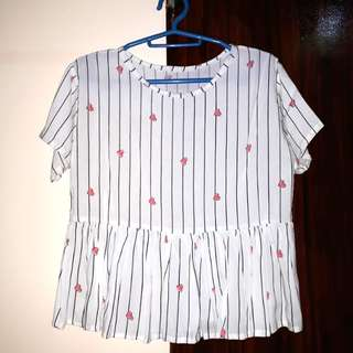 White Hearts Top