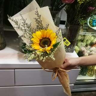 Graduation Flower Bouquet Sunflower Bouquet