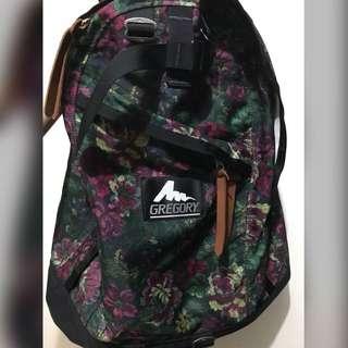 Gregory USA 綠花 daypack