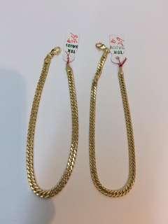 18k Saudi Gold Bracelet 2.9g 7 1/2