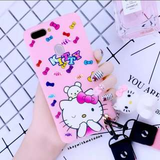 HelloKitty Pink Panther Oppo A73 / A79 / R11S plus casing