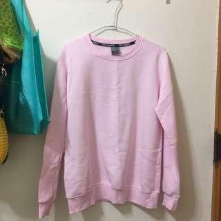 粉紅色衛衣 大學T