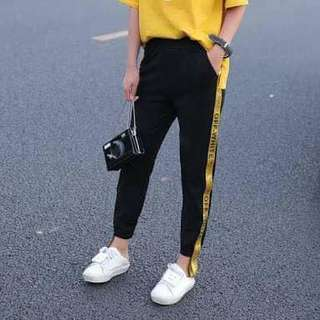 Off White Track Pants