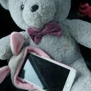 PINKY BUNNY CASE