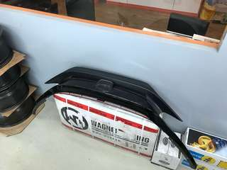 Civic 10 gen stock grille with black cover