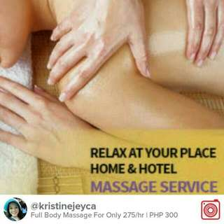 24/7 Home Service Massage