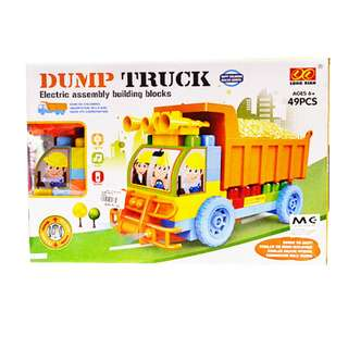 DUMP TRUCK Electric Assembly Building Block