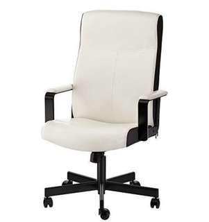IKEA MALKOM - Swivel Chair, beige