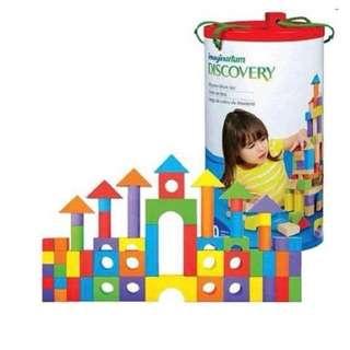 Imagination discovery building blocks