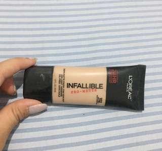 Infalible pro matte 24 hours foundation