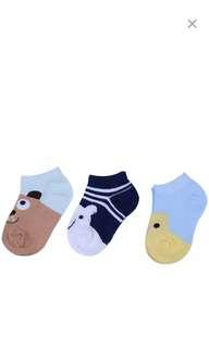 Cute animal baby toddler socks