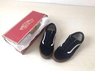 Vans Black Gumsole Original ( NETT, No Negotiable )