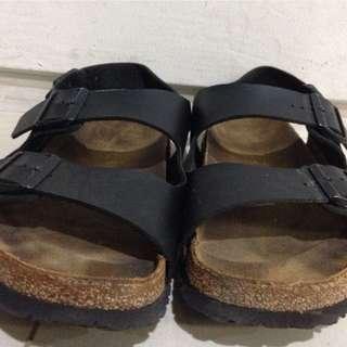 Jual murah sepatu converse size 46 fit 45 dan sendal birkenstock ori size 45