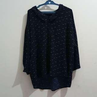 Casual polo blouse