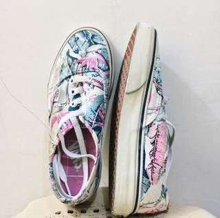 Vans White with design - Original