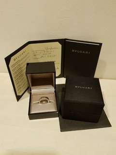 💎💎Genuine Bvlgari B.ZERO1 White Gold Signature Ring (1Band) 💎💎