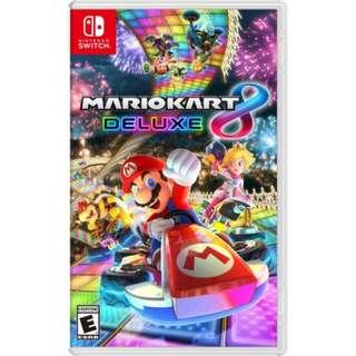 [NEW & SEALED + PROMO] Nintendo Switch Mario Kart 8 Deluxe