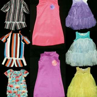 take all 10 dresses,4 ternos for 800.00